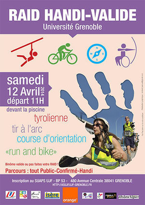 Raid Handi-Valide ce samedi 12 avril - Métro-Sports | Sport et handicap | Scoop.it