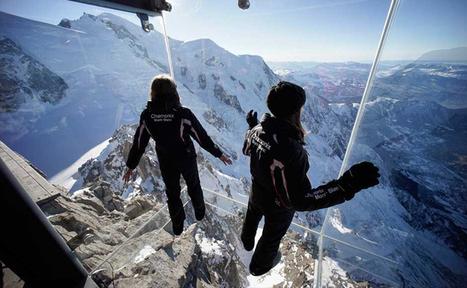 IMPRESIONANTE Mirador Transparente se levanta sobre los Alpes Franceses | The Architecture of the City | Scoop.it