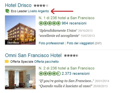 "TripAdvisor Lancia GreenLeaders, La Classificazione ""Eco"" per Hotel e B&B 