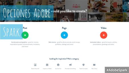 Adobe Spark: Uno de los programas de diseño más intuitivos | FujiX | Scoop.it