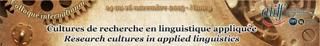Le colloque CRELA, cultures de recherche en linguistique appliquée | TELT | Scoop.it