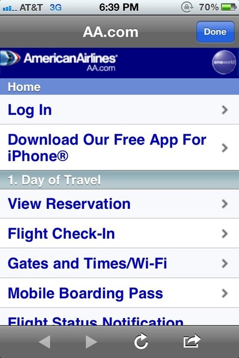 American Airlines bolsters mobile bookings via new initiative | Tourism Social Media | Scoop.it