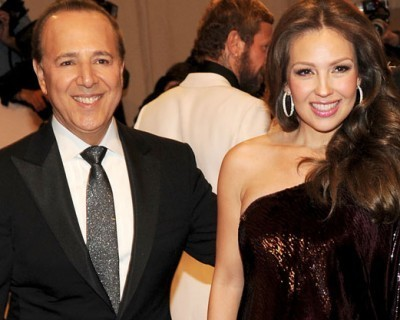 Mexican Singer Thalia and Record Exec Tommy Mottola Welcome Son ... | mexicanismos | Scoop.it