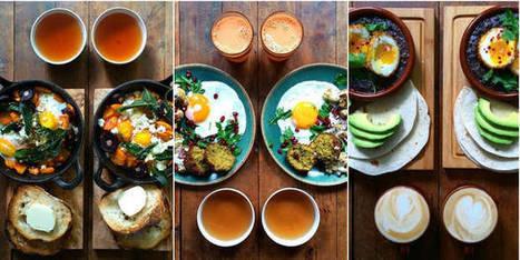 Le petit déjeuner symétrique qui fait fureur sur le web | Food and design | Scoop.it