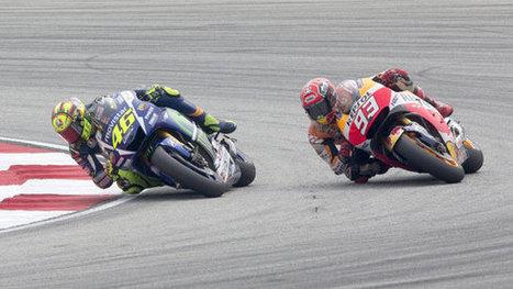 Moto GP: Polémica patada de Rossi a Marc Márquez en plena carrera - Deporte-motor - ESPN | VALORA'M | Scoop.it