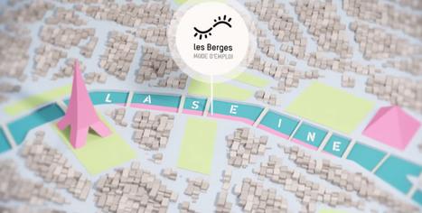 Les berges : mode d'emploi (Mairie de Paris)   Infographies, traits de génie   Scoop.it