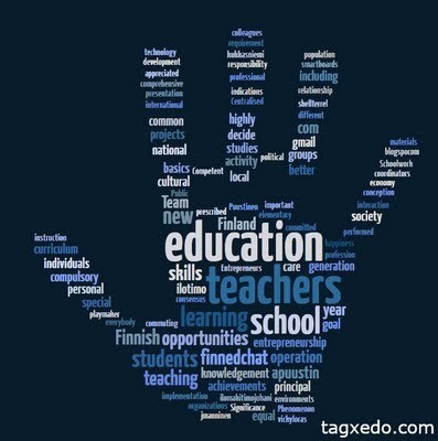Education Technology - theory and practice: #RSCON3 Reflections and Finnish Education System in Tagxedo Word Cloud | Leadership, Trust and e-Learning | Scoop.it