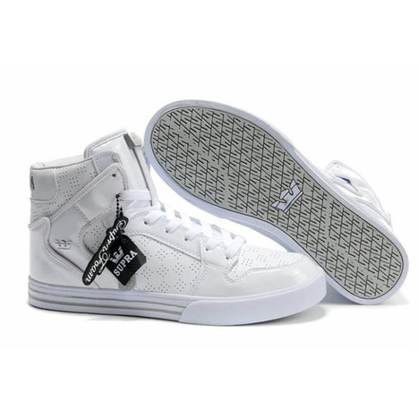 Supra TUF Vaider Men Sneaker With White Color | new and share style | Scoop.it