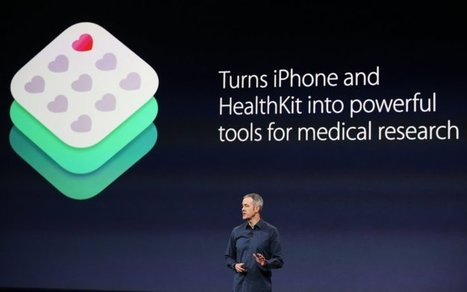 Apple's iPhone apps to collect users' DNA data for medical treatment and research   Here and There Healthcare   Scoop.it