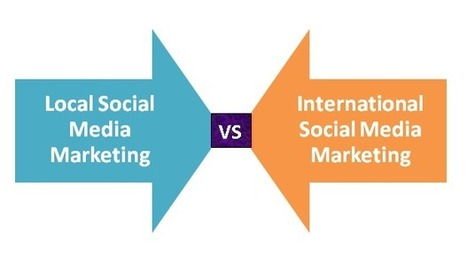 The Art of Local Social Media Marketing vs International Social ... | ThinkinCircles | Scoop.it
