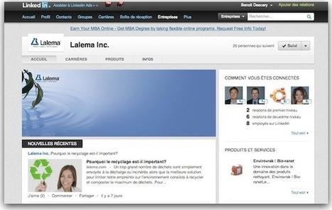 Linkedin: les nouvelles pages d'entreprises sont disponibles.   Communication écrite   Scoop.it