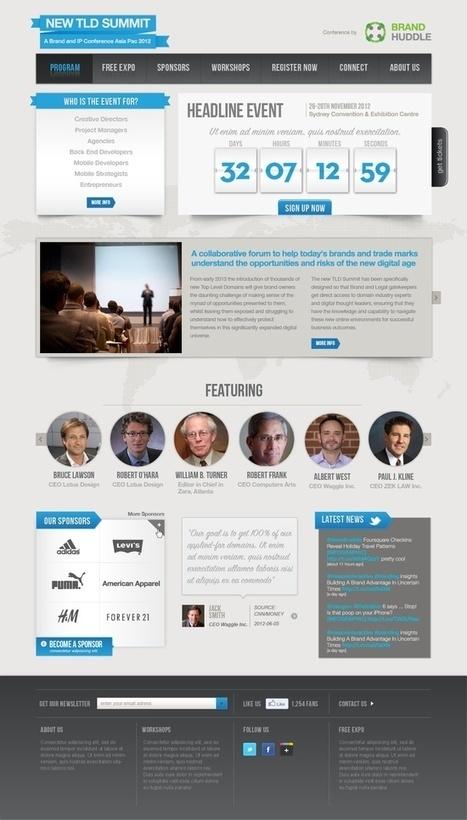 Web design inspiration | Web Design Ideas | Scoop.it