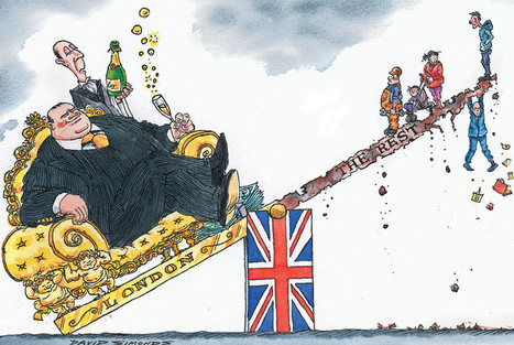 UK's problem isn't the dominance of finance –it's the dominance of London | Referendum 2014 | Scoop.it
