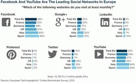 Des statistiques surprenantes sur les médias sociaux - MediasSociaux.fr | Community Manager & Referencement | Scoop.it