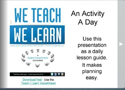 A Lesson A Day - EFL CLASSROOM 2.0 | EFL Classroom 2.0 | Scoop.it