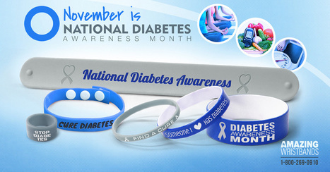 Wear Blue To Support Diabetes Awareness | Craze On Wristbands | Scoop.it