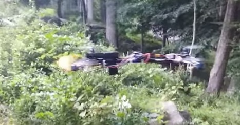 A drone fires a handgun in this terrifying video | Prozac Moments | Scoop.it