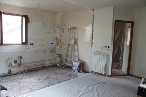 Travaux de rénovation d'un appartement à Clichy | Avant Après | Scoop.it