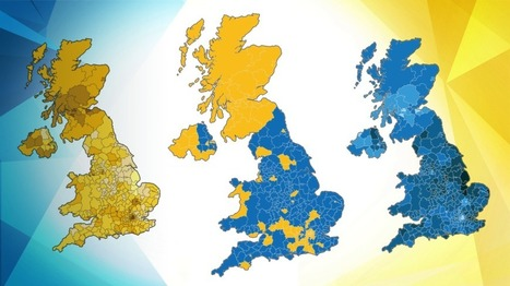 EU referendum: The result in maps and charts - BBC News | Geographical Issues | Scoop.it