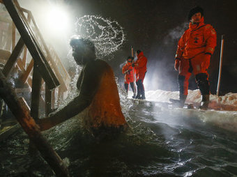 In Russia, Epiphany Comes With A Shockingly Cold Swim | Geography Education | Scoop.it