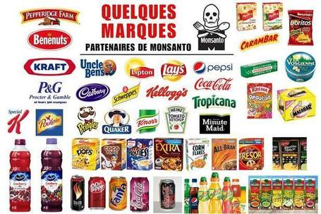 Boycott MONSANTO : la liste des marques complices | fb27 Infos | Scoop.it