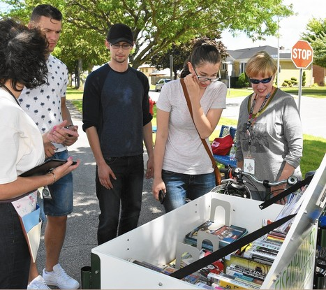 The book bike: Eisenhower library goes mobile | Coopération, libre et innovation sociale ouverte | Scoop.it
