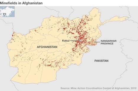 Landmine Map: Afghanistan | A Thousand Splendid Suns; Women's Rights | Scoop.it