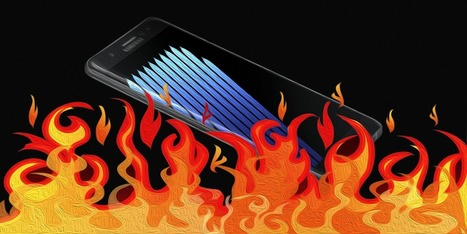 Brand on Fire: Is Samsung Still Burning from the Galaxy Note 7? | Marketing Stats and Insights | Scoop.it