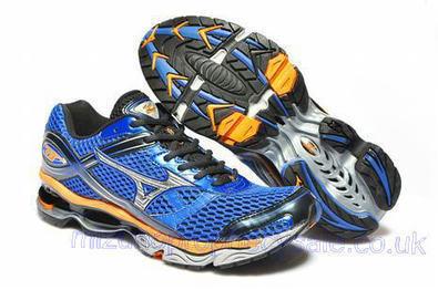 Mizuno Wave Creation 13 Mens Running Shoes Blue Orange.jpg (465x309 pixels)   fashionshoes   Scoop.it