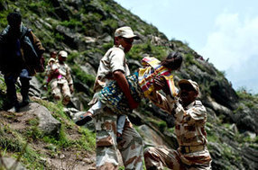 Uttarakhand: 200 rescued from Badrinath, water level of Bhagirathi river rises - Hindustan Times | Indian Politics | Scoop.it