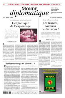 Le Monde diplomatique, novembre 2014 | Revue de presse | Scoop.it