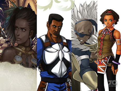 Black characters in JRPGs |TheZonegamer | Thezonegamer | Scoop.it