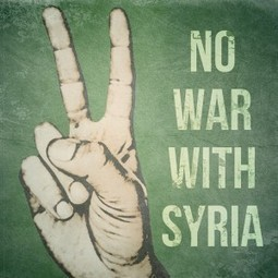 Map of #NoWarWithSyria Protests | Syria Crisis | Scoop.it