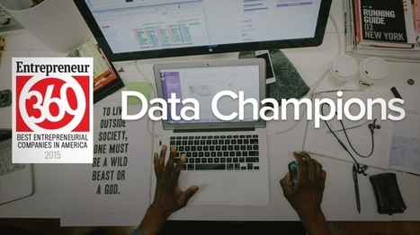 For Entrepreneur360 'Data Champions,' Success Is Steady, Plotted and Planned | HR Analytics and Big Data @ Work | Scoop.it