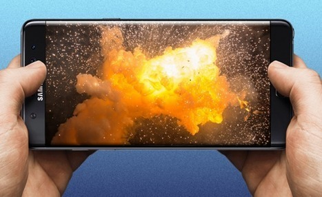 Calm down everyone - Samsung's not going to make you send your Note 7 back for repairs. | Brian's Science and Technology | Scoop.it