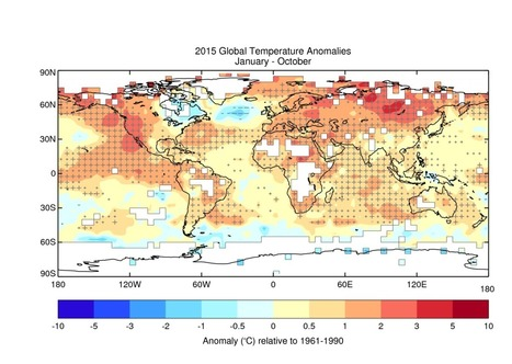 WMO: 2015 likely to be warmest year on record | catastrophe risks | Scoop.it