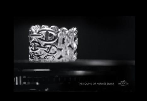 """The sound of Hermès Silver : une pièce digitale capable de """"jouer"""" le son de l'argent - Un blog en bois   Luxury and Marketing   Scoop.it"""