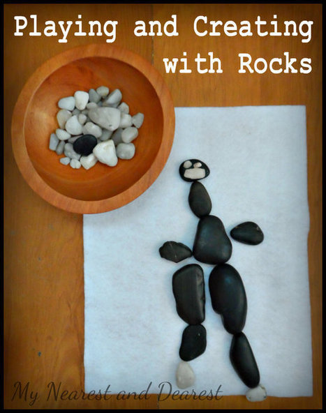 Playing and Creating with Rocks - My Nearest And Dearest | Playfulness | Scoop.it
