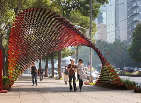 Une installation artistique réalisée à partir de 1500 mugs pour Nescafé | art et design | Scoop.it