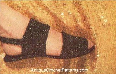 Vintage Crochet Slipper Pattern   Tricothé - les actus du tricot   Scoop.it