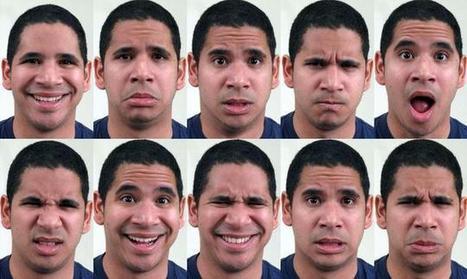 Las expresiones faciales humanas se clasifican ... | Comunicaciones y ventas exitosas | Scoop.it