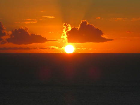 A Bequia moment ... Sunset, July 7, 2013 - and a give-away! | Bequia - All the Best! | Scoop.it