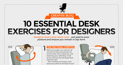 10 Simple Exercises For Designers And Desk Workers To Stay Fit | DigitalSynopsis.com | Scoop.it