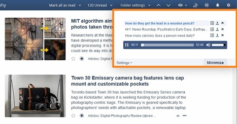 Inoreader How-to: Keep up with your favorite podcasts in Audio Player   RSS Circus : veille stratégique, intelligence économique, curation, publication, Web 2.0   Scoop.it