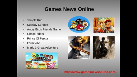 Free Games News Online | Games News Online- Latest News, Reviews & Updates of Free Online Games | Scoop.it