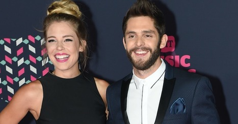 Hot country couple Lauren and Thomas Rhett find the perfect way to cool off this summer | Country Music Today | Scoop.it