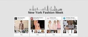 Pinterest : une page dédiée à la mode en vue de la fashion week ... - LaDépêche.fr | Mode & Fashion | Scoop.it