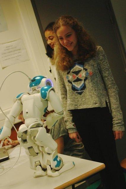 Usage pédagogique d'un robot humanoide - Créatice | Enseigner avec le numérique | Scoop.it