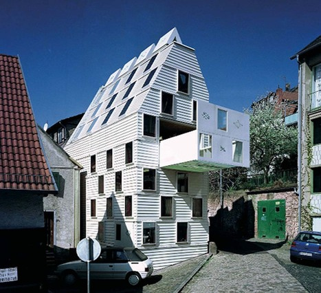 [inspiration] Gelnhausen : une maison à tiroir perforée de 52 fenêtres | Ca m'interpelle... | Scoop.it