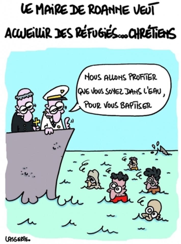 Réfugiés chrétiens | Baie d'humour | Scoop.it